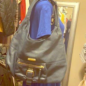 Navy leather Michael kors purse
